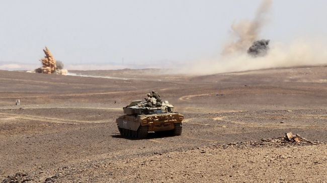 Troops positioned on Syria-Jordan border