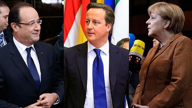 Photo of Zionist UK PM hold phone talks on Syria with German, French leaders