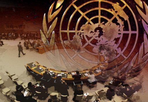 UN Showdown Set over Action against Syria