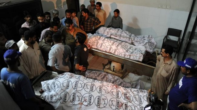 Violence leaves eight people dead in southern Pakistan