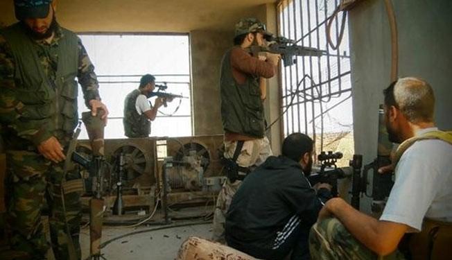 Photo of Al-Nusra militants execute FSA commander