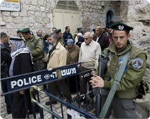 Photo of Zionist regime arrested 20 Palestinians after Eid prayers