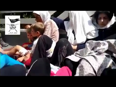 Photo of Video- Terrorists in Syria capturing women and children