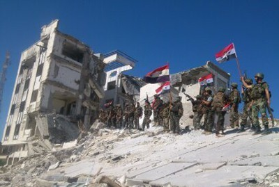 Photo of Syrian Army Kills Dozens of al-Nusra Terrorists in Adra Ambush
