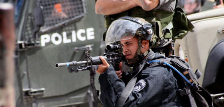Photo of zionist soldier sent to hell in Al-Khalil