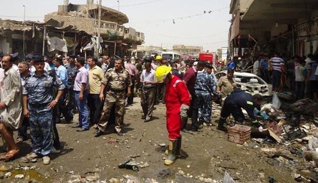 At least 7 killed in Baghdad market blast