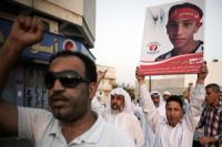 Photo of Bahrainis protest martyrdom of activist