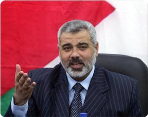Photo of Palestinian PM Ismail Haneyya: attempts to drag the resistance into side battles will fail
