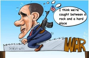 Obama's war conditions