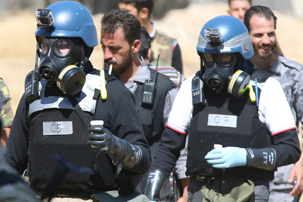 """Team to Dismantle Chemical Weapons in Syria Includes 7 """"Israelis"""""""