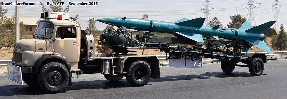 Photo of Iran's Sayyad-1 (Hunter I)