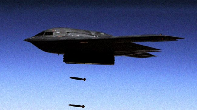 US will bomb Syria with long-range bombers, official says