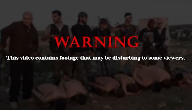 Shocking video of rebels executing Syrian soldiers