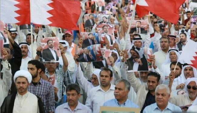 Photo of Bahrainis wage protest, demand lawmaker's release