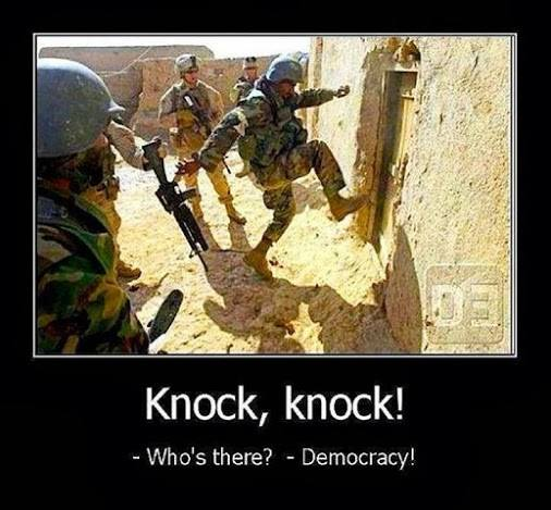 Photo of -Who is there?   – Democracy