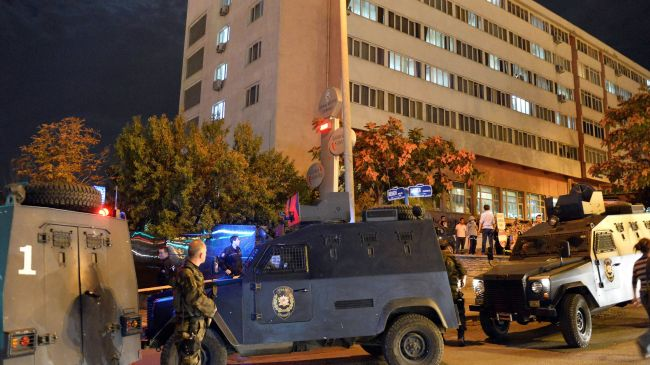 Photo of One shot dead after attack on police HQ in Ankara
