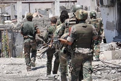 Photo of Victorious Syrian Army eliminates terrorists in Homs