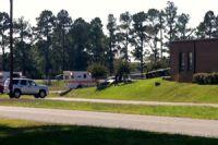 2 US soldiers shot at a Navy base