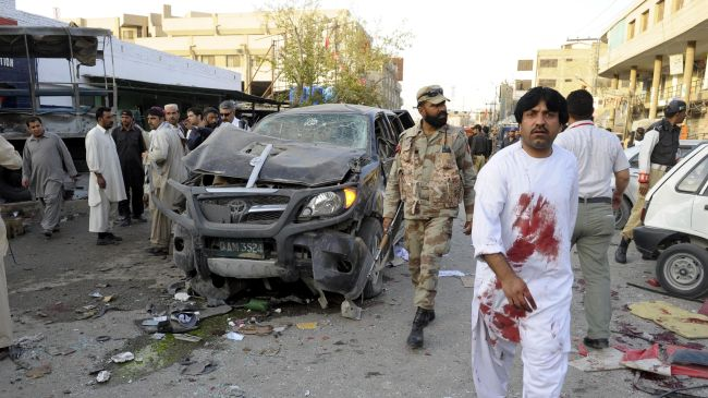 Photo of Ten killed, dozens injured in Pakistan blasts