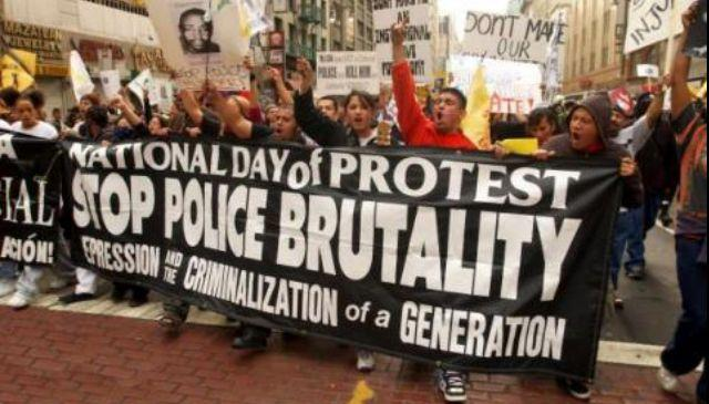Photo of Americans protest against police brutality