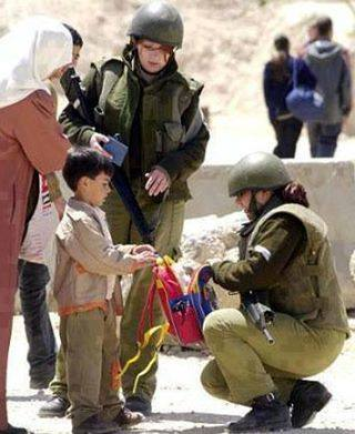 Photo of Video- Zionist and their fear from the Palestinian children