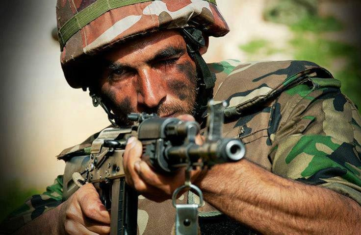 Army kills numbers of terrorists in clashes in #Daraa
