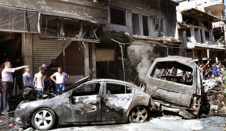 Blast in Damascus