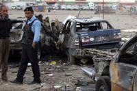 Bomb attacks kill 5 Iraqi policemen