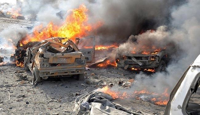 Explosion strikes suburban Damascus