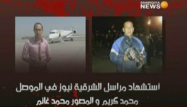 Five people, including two journalists killed in Iraq