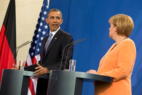 Photo of Obama 'Knew and Approved' NSA Spying on Merkel