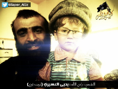 Photo of Please help me – a little Syrian Boy in the Hand of the Psychopath Sheik Souqour Al-Izz