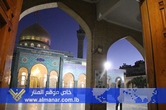 Photo of Al-Manar Website Roams Sayyeda Zainab Area in Damascus