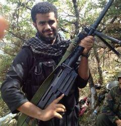 Saudi mercenary Fahd Zreyk ,killed in Latakia countryside by the Syrian Arab army