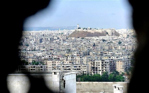 Syria Syrian Arab Army repels an attack by al-Nusra on #Aleppo 's Central Prison
