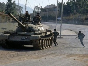 Syrian army continues advance against rebels