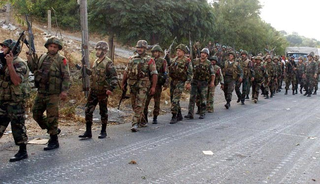 Syria army clears al-Husseiniya town of terrorists