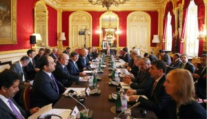 'Friends of Syria' and Syria opposition meet in London