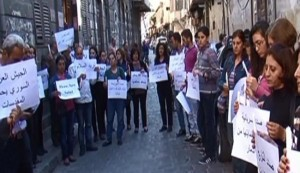 Christian Syrians call for release of abducted relatives
