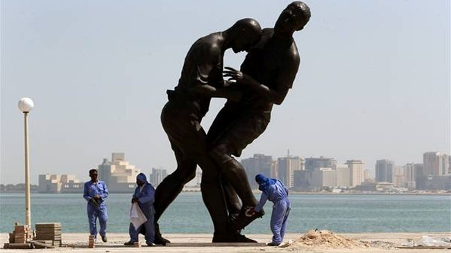 Photo of Why Qatar removed World Cup 'headbutt' statue of Zinedine Zidane