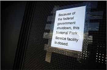 Photo of Government Shutdown Sends Websites Offline, Facilities Shut in US