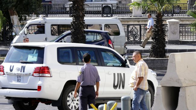 Photo of UN-OPCW team makes progress in Syria