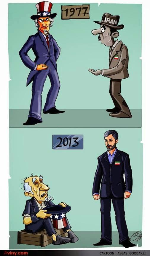 Photo of Caricature- What has changed from the 1979 Revolution of Iran?