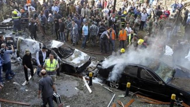 Photo of Bloody hands of zionists on Lebanon: Nearly two dozen die in blasts in Beirut