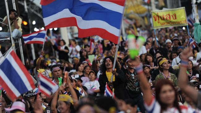 Photo of Bangkok sees anti-government protest