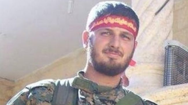 Photo of Hezbollah commander martyred in Syria clashes with foreign-backed terrorists