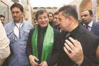Photo of Turkish FM visits Grand Ayatollah Sistani in Najaf
