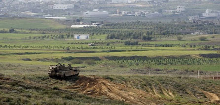 Photo of Limited invasion into Palestinian lands east of Khan Younis
