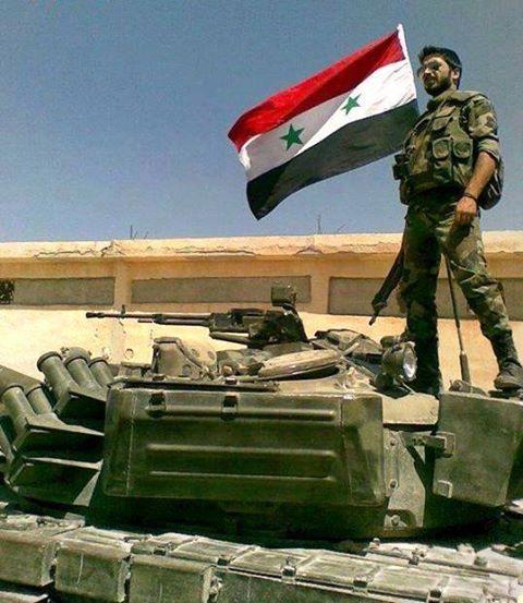 Al-Sbeneh al-Kubra and al-Sughra in the grip of Syrian Arab Army