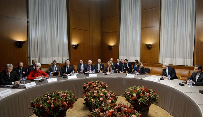 Iran, six powers hold 1st session of nuclear talks in Geneva